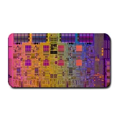 Circuit Board Pattern Lynnfield Die Medium Bar Mats