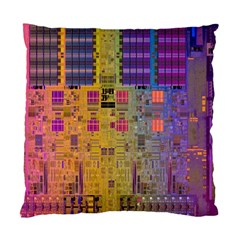 Circuit Board Pattern Lynnfield Die Standard Cushion Case (One Side)