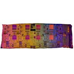 Circuit Board Pattern Lynnfield Die Body Pillow Case (Dakimakura)