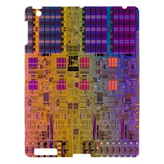 Circuit Board Pattern Lynnfield Die Apple iPad 3/4 Hardshell Case