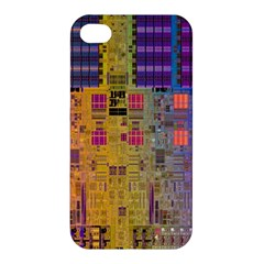 Circuit Board Pattern Lynnfield Die Apple iPhone 4/4S Premium Hardshell Case