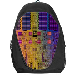Circuit Board Pattern Lynnfield Die Backpack Bag
