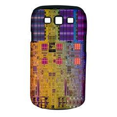 Circuit Board Pattern Lynnfield Die Samsung Galaxy S III Classic Hardshell Case (PC+Silicone)