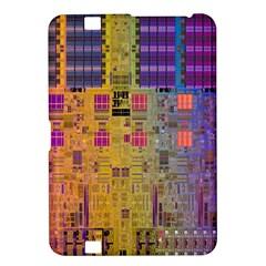 Circuit Board Pattern Lynnfield Die Kindle Fire HD 8.9