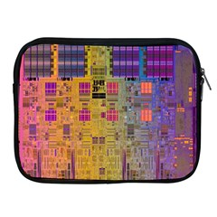 Circuit Board Pattern Lynnfield Die Apple Ipad 2/3/4 Zipper Cases