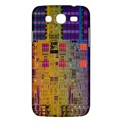 Circuit Board Pattern Lynnfield Die Samsung Galaxy Mega 5.8 I9152 Hardshell Case