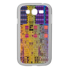 Circuit Board Pattern Lynnfield Die Samsung Galaxy Grand DUOS I9082 Case (White)