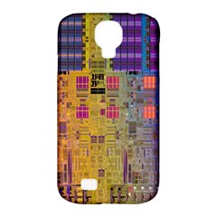 Circuit Board Pattern Lynnfield Die Samsung Galaxy S4 Classic Hardshell Case (PC+Silicone)
