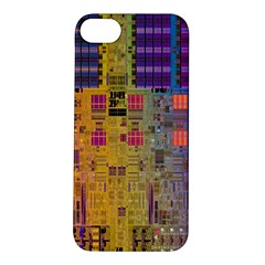 Circuit Board Pattern Lynnfield Die Apple iPhone 5S/ SE Hardshell Case