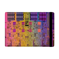 Circuit Board Pattern Lynnfield Die Ipad Mini 2 Flip Cases