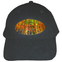 Circuit Board Pattern Black Cap