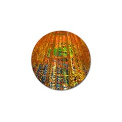 Circuit Board Pattern Golf Ball Marker (4 pack)