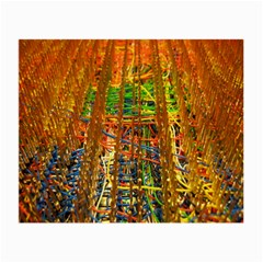 Circuit Board Pattern Small Glasses Cloth (2-Side)
