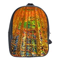 Circuit Board Pattern School Bags(large)