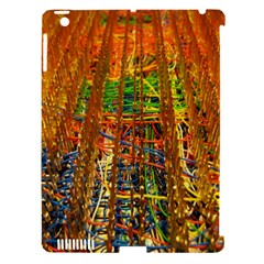 Circuit Board Pattern Apple Ipad 3/4 Hardshell Case (compatible With Smart Cover)