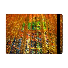 Circuit Board Pattern Apple iPad Mini Flip Case