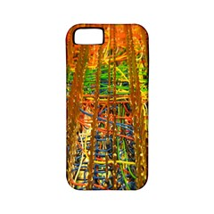 Circuit Board Pattern Apple iPhone 5 Classic Hardshell Case (PC+Silicone)