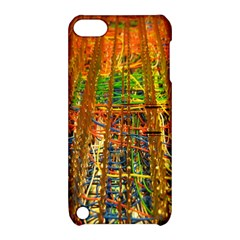 Circuit Board Pattern Apple iPod Touch 5 Hardshell Case with Stand