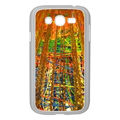Circuit Board Pattern Samsung Galaxy Grand DUOS I9082 Case (White)