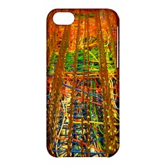 Circuit Board Pattern Apple Iphone 5c Hardshell Case