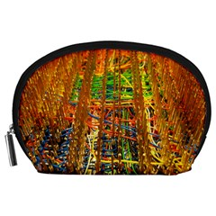 Circuit Board Pattern Accessory Pouches (Large)