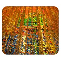Circuit Board Pattern Double Sided Flano Blanket (small)