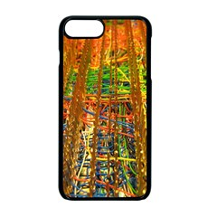 Circuit Board Pattern Apple Iphone 7 Plus Seamless Case (black)