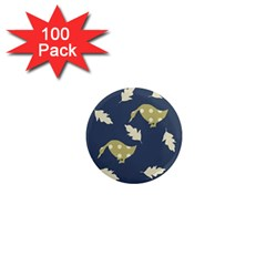 Duck Tech Repeat 1  Mini Magnets (100 pack)