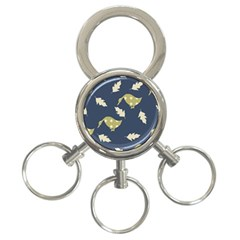 Duck Tech Repeat 3-Ring Key Chains