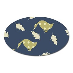 Duck Tech Repeat Oval Magnet