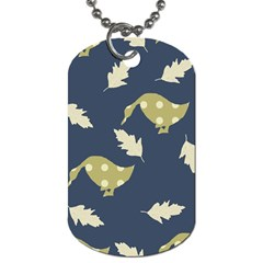 Duck Tech Repeat Dog Tag (One Side)
