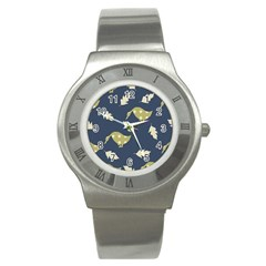 Duck Tech Repeat Stainless Steel Watch