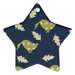 Duck Tech Repeat Star Ornament (two Sides)