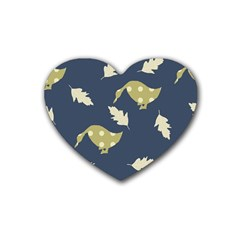 Duck Tech Repeat Heart Coaster (4 Pack)