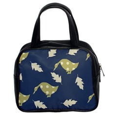Duck Tech Repeat Classic Handbags (2 Sides)