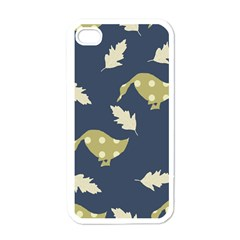 Duck Tech Repeat Apple iPhone 4 Case (White)