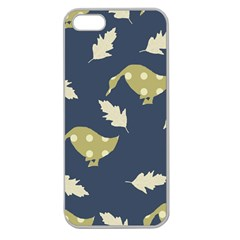 Duck Tech Repeat Apple Seamless iPhone 5 Case (Clear)