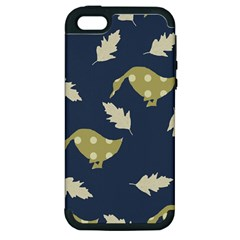 Duck Tech Repeat Apple Iphone 5 Hardshell Case (pc+silicone)