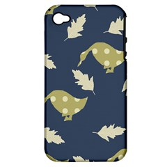 Duck Tech Repeat Apple iPhone 4/4S Hardshell Case (PC+Silicone)