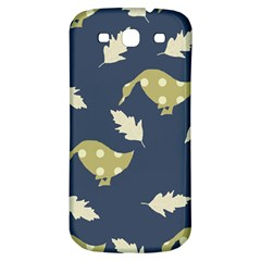 Duck Tech Repeat Samsung Galaxy S3 S III Classic Hardshell Back Case