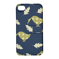 Duck Tech Repeat Apple iPhone 4/4S Hardshell Case with Stand