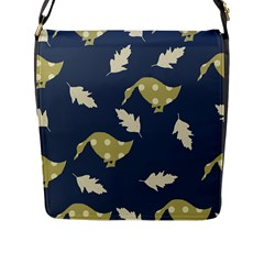 Duck Tech Repeat Flap Messenger Bag (L)