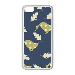 Duck Tech Repeat Apple iPhone 5C Seamless Case (White)