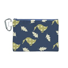 Duck Tech Repeat Canvas Cosmetic Bag (M)