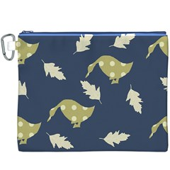 Duck Tech Repeat Canvas Cosmetic Bag (xxxl)