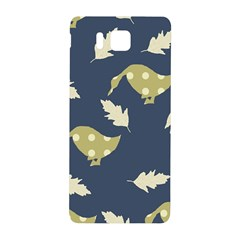 Duck Tech Repeat Samsung Galaxy Alpha Hardshell Back Case