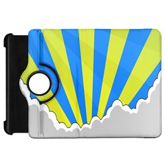 Sunlight Clouds Blue Sky Yellow White Kindle Fire Hd 7