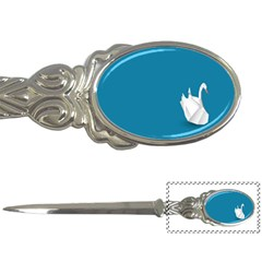Swan Animals Swim Blue Water Letter Openers