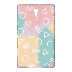 Triangle Circle Wave Eye Rainbow Orange Pink Blue Sign Samsung Galaxy Tab S (8.4 ) Hardshell Case
