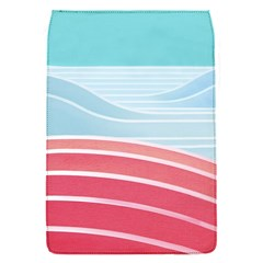 Wave Waves Blue Red Flap Covers (S)